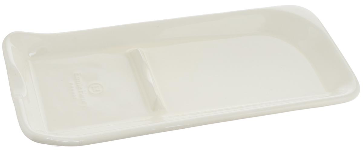Подставка под ложку Emile Henry Natural Chic, цвет: кремовый, 22 х 10 см20262Подставка под ложку Emile Henry Natural Chic выполнена из высококачественной огнеупорной керамики, покрытой с внешней стороны стеклянной глазурью. Подставка для ложки незаменима на вашей кухне. В ее удобстве и практичности вы легко убедитесь. Высокие края подставки сохраняют ручку ложки чистой.Размер подставки: 22 х 10 х 2 см.