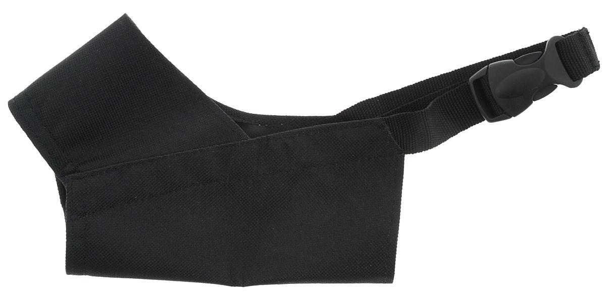 """Намордник для собак ЗооМарк """"№2"""", цвет: черный, обхват 14 см"""