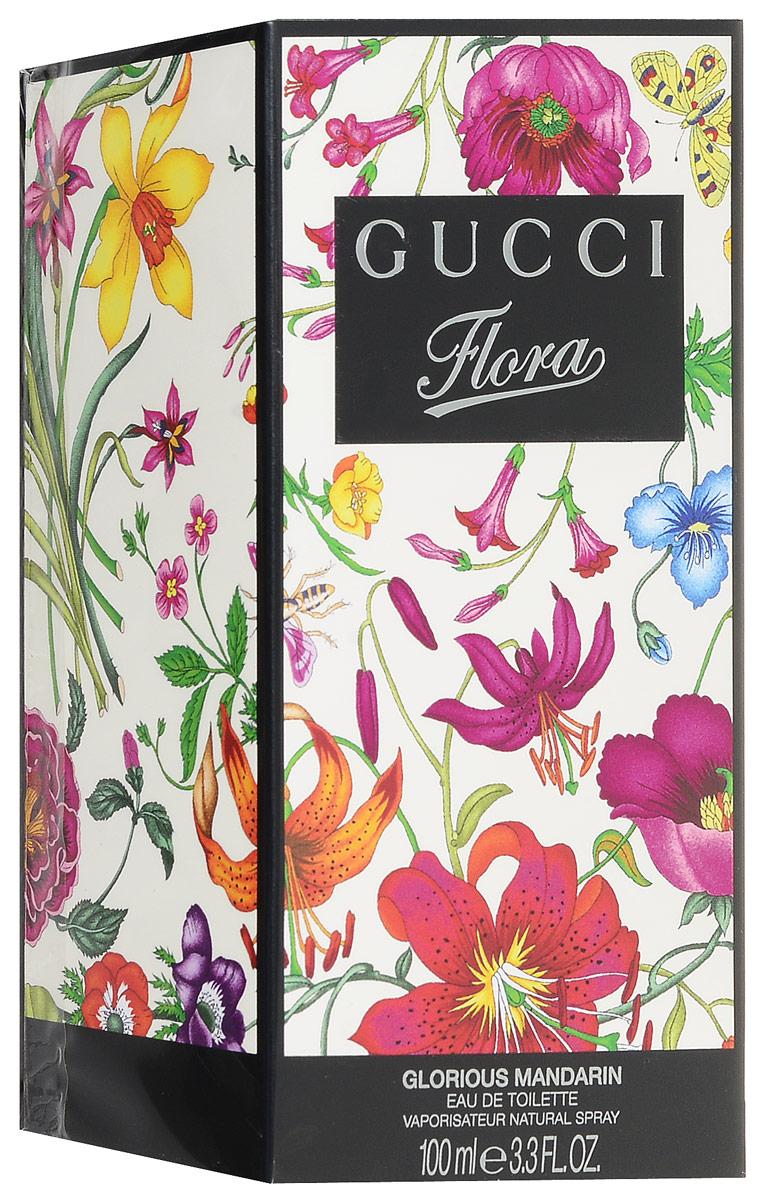 Gucci Туалетная вода Flora Glorious Mandarin, 100 мл gucci gucci женская туалетная вода flora glorious mandarin 82434922 50 мл