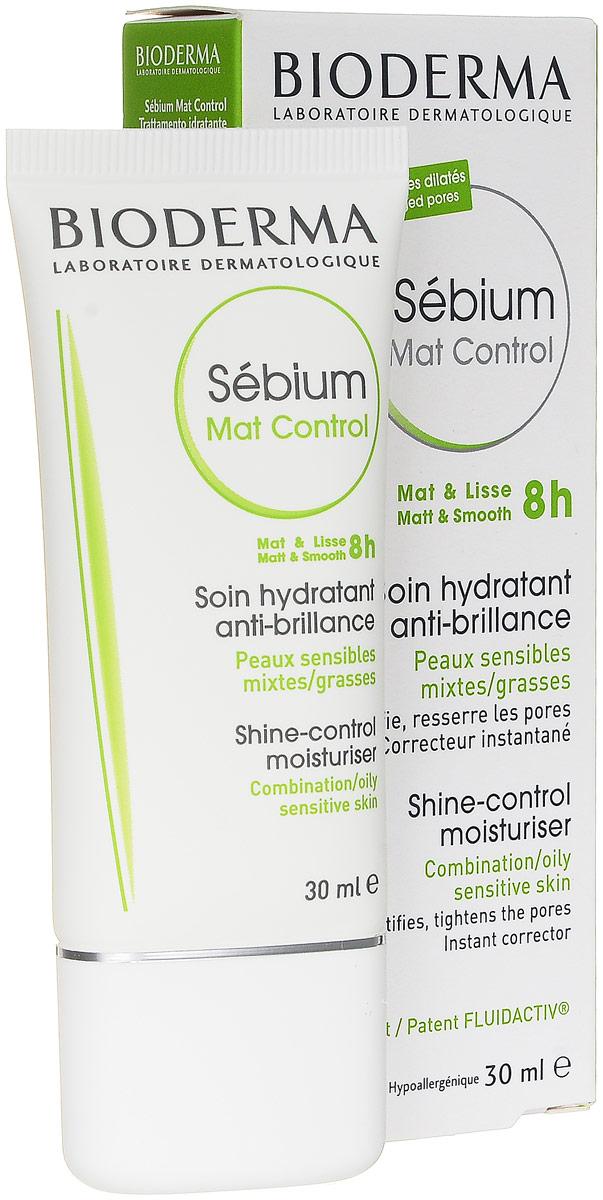 Bioderma Sebium Мат-контроль, крем для проблемной кожи, 30 мл028658BНовый уход за проблемной кожей, который действует в трех направлениях:увлажнение, матирование, сглаживание. После нанесения средства кожамгновенно становится матовой. Жирный блеск не появляется в течение 8 часов,структура кожи улучшается день за днем. Активные компоненты Bioderma Sebium Мат-контроль совершенствуют текстурукожи, сужают поры, регулируют выработку кожного сала, избыток которогоприводит к появлению жирного блеска. Запатентованный комплекс Fluidactiv действует на биологические механизмы,которые улучшают качество кожного сала, и тем самым предотвращает закупоркупор. Ультралегкая текстура быстро впитывается и дарит ощущение свежести.Можно использовать в качестве основы под макияж. Средство прошлодерматологические испытания и может применяться людьми с чувствительнойкожей.