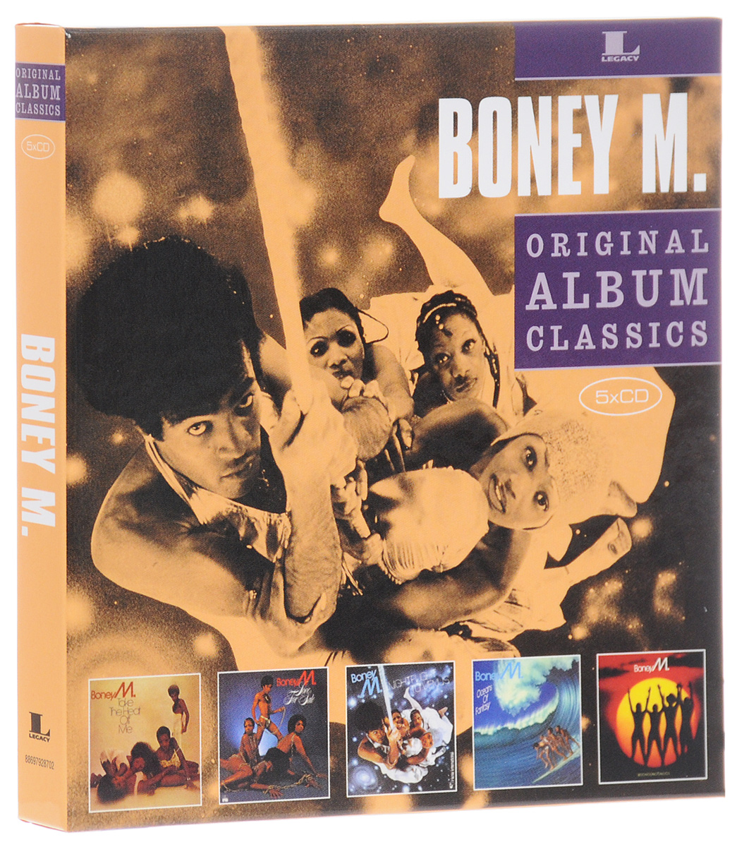 Boney M Boney M. Original Album Classics (5 CD) виниловая пластинка boney m christmas album