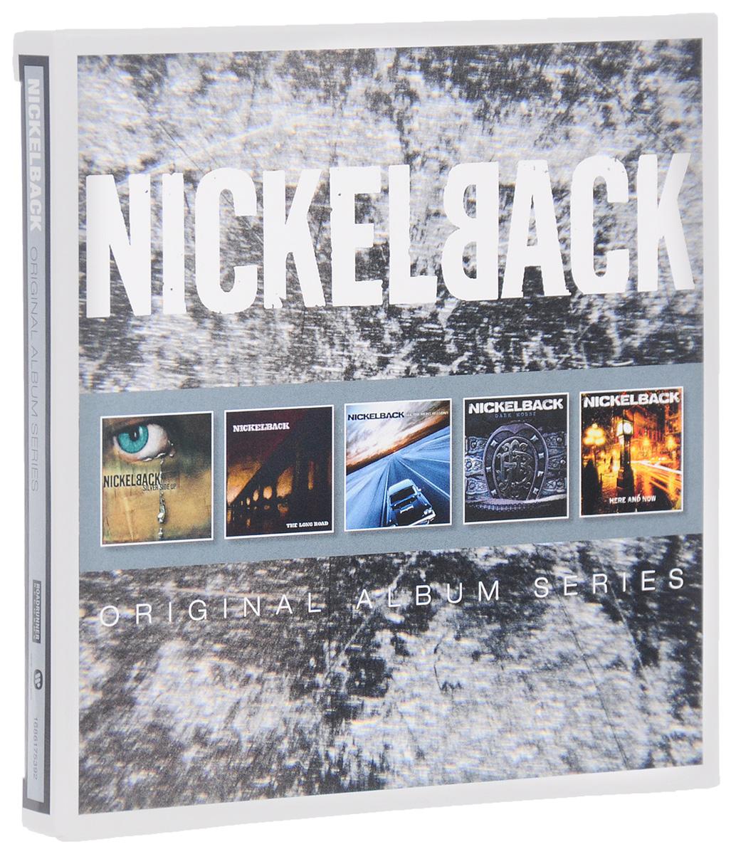 Nickelback Nickelback. Original Album Series (5 CD) cd nickelback original album series
