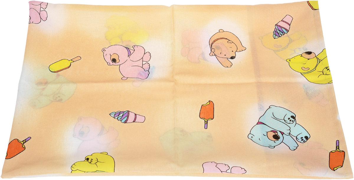 Фея Наволочка детская Мишки цвет желтый 40 см х 60 см0001056-3_желтыйДетская наволочка Фея Мишки идеально подойдет для подушки вашего малыша. Наволочка изготовлена из 100% хлопка, она необычайно мягкая и приятная на ощупь. Натуральный материал не раздражает даже самую нежную и чувствительную кожу ребенка, обеспечивая ему наибольший комфорт. Приятный рисунок наволочки, несомненно, понравится малышу и привлечет его внимание. На подушке с такой наволочкой ваша кроха будет спать здоровым и крепким сном.