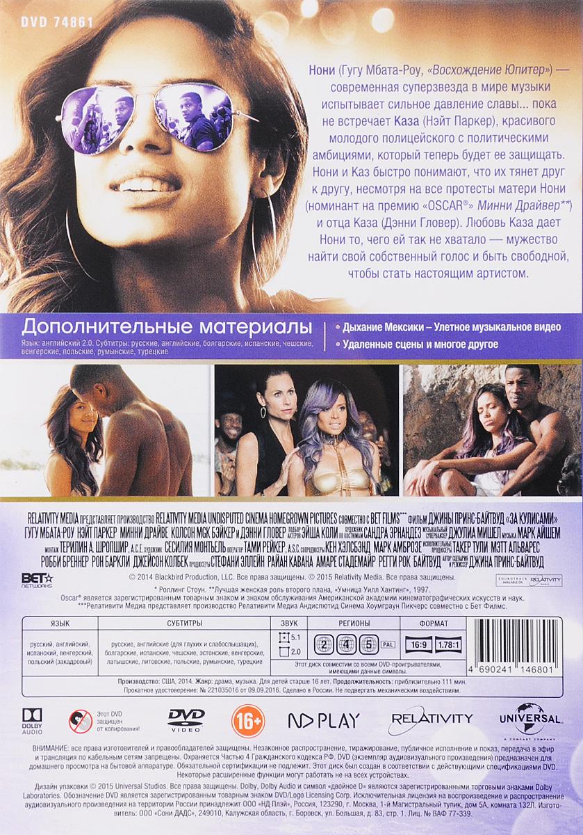 За кулисами Black Entertainment Television (BET),Relativity Media,Studio 11 Films,Homegrown Pictures,Undisputed Cinema