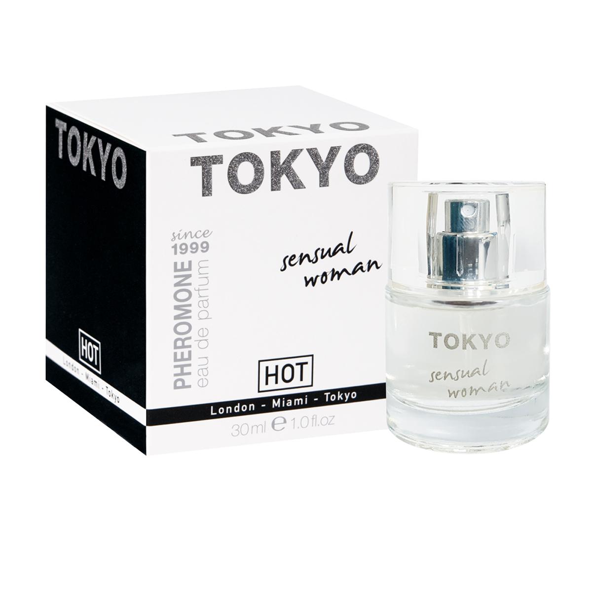Hot Женские духи с феромонами Tokyo sensual, 30 мл55113Базовые ноты креативного и динамичного Токио - опопонакс и ветивер. Свежесть и легкость этого нон-стоп города дадут ощутить апельсин, мандарин и мимоза.