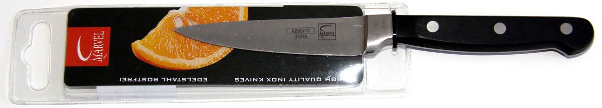 Нож для чистки Marvel Profession knives series, цвет: серый, длина лезвия 9 см. 31010 ситечко marvel цвет серый диаметр 9 см