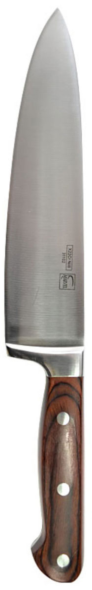 Нож столовый Marvel Profession knives series, цвет: серый, длина лезвия 20 см. 31102 нож для нарезки мяса marvel santoku series цвет серый длина лезвия 20 5 см 87313
