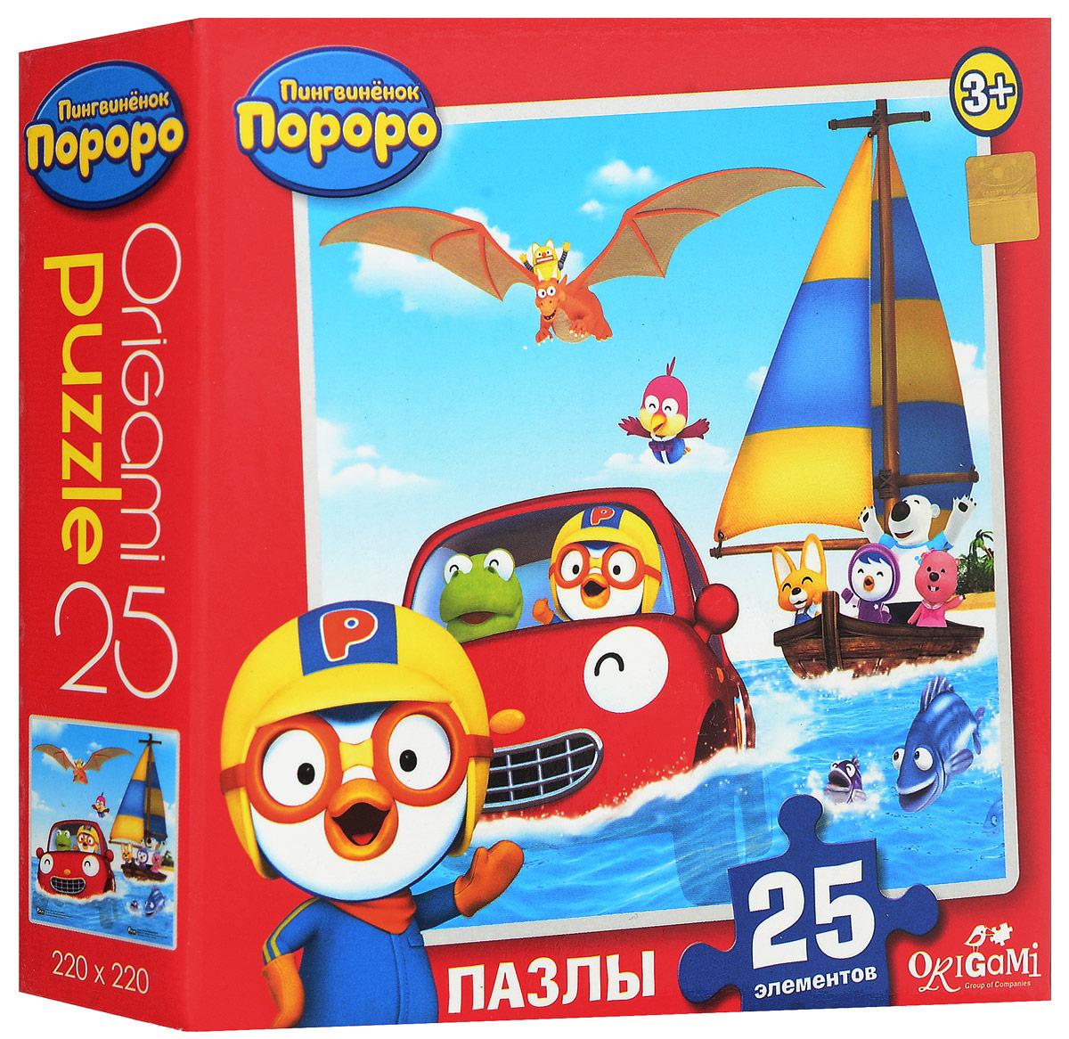 Оригами Пазл для малышей Пингвиненок Пороро 02147_4