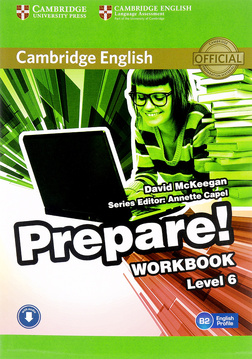 Cambridge English Prepare! Level 6 B2: Workbook сумка the cambridge satchel