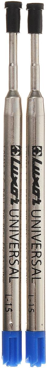 Luxor Набор стержней для шариковых ручек Neotec цвет синий 2 шт9102/2BCНабор из 2 стержней для шариковых ручек Luxor Neotec с синими чернилами.Корпуса изготовлены из качественного металла. Цвет корпуса соответствует цвету чернил. Набор стержней для шариковых ручек станет незаменимой канцелярской принадлежностью для вас или для вашего ребенка.
