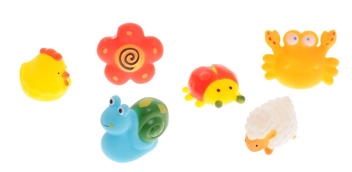 ABtoys Набор игрушек для ванной Веселое купание 6 шт PT-00351 ручка телескопическая mg tr 82f truper 16012