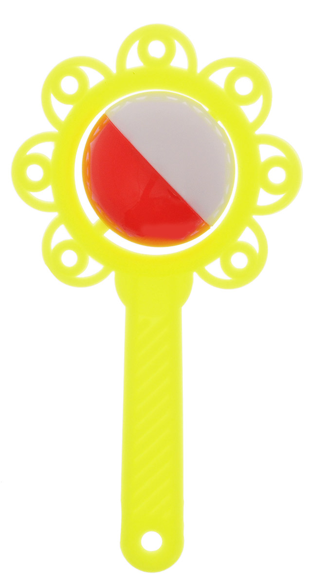Аэлита Погремушка Цветок цвет желтый
