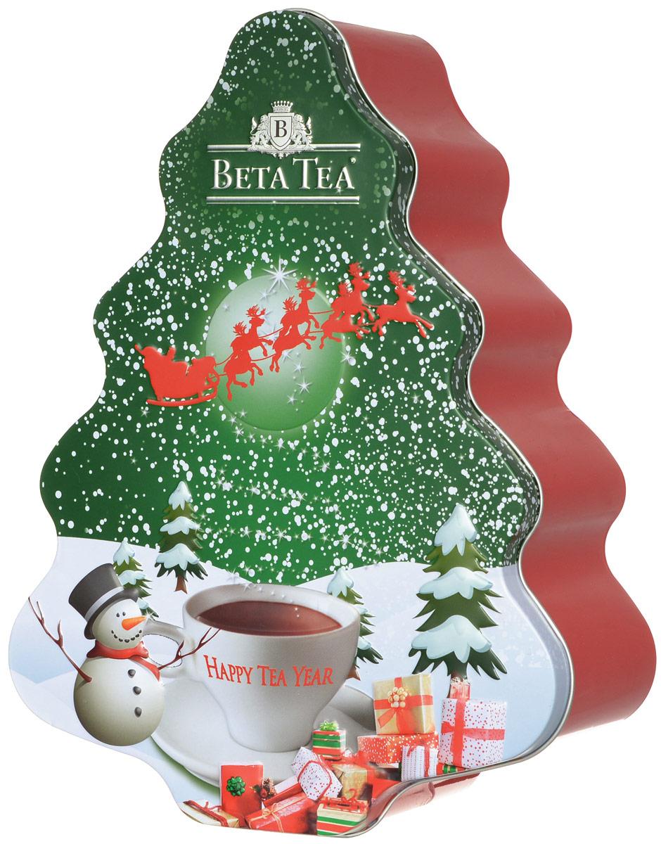 Beta Tea Елка черный листовой чай, 200 г