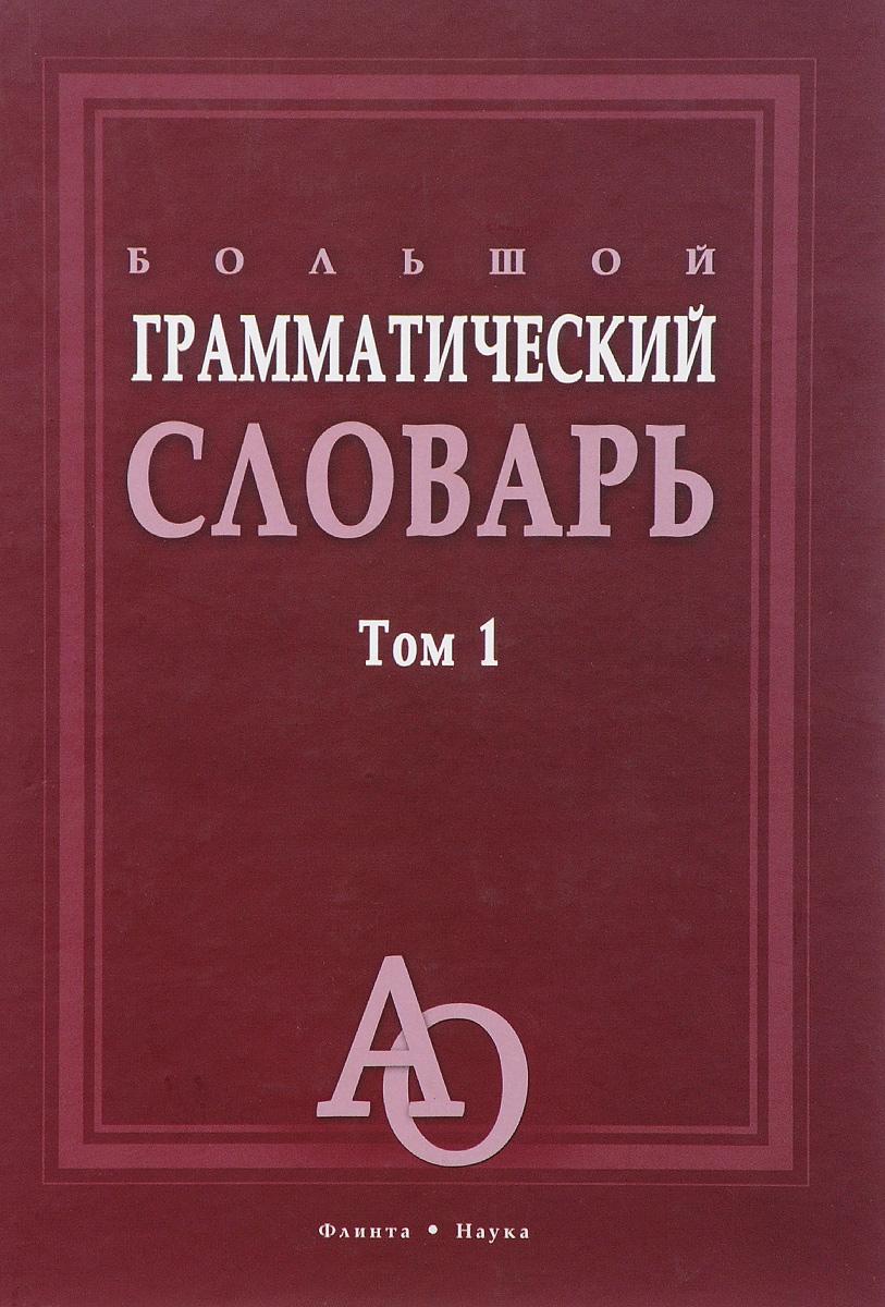 Большой грамматический словарь. В 2 томах. Том 1. Л. З. Бояринова, Е. Н. Тихонова, М. Н. Трубаева