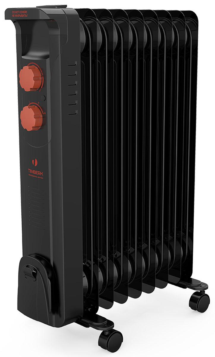 Timberk TOR 21.2512 BCL радиатор масляныйCB 090Масляный радиатор Timberk TOR 21.2512 BCL имеет классический тип секций и элегантный дизайн. Колесики предназначены для удобного перемещения обогревателя. Радиатор оборудован устройством для намотки сетевого шнура и имеет три ступени мощности нагрева, а также встроенный регулируемый термостат.Timberk TOR 21.2512 BCL снабжен механизмом защиты от перегрева и замерзания и технологией STEEL SAFETY, которая исключает проблему утечки масла и гарантирует высочайшую надежность устройства.