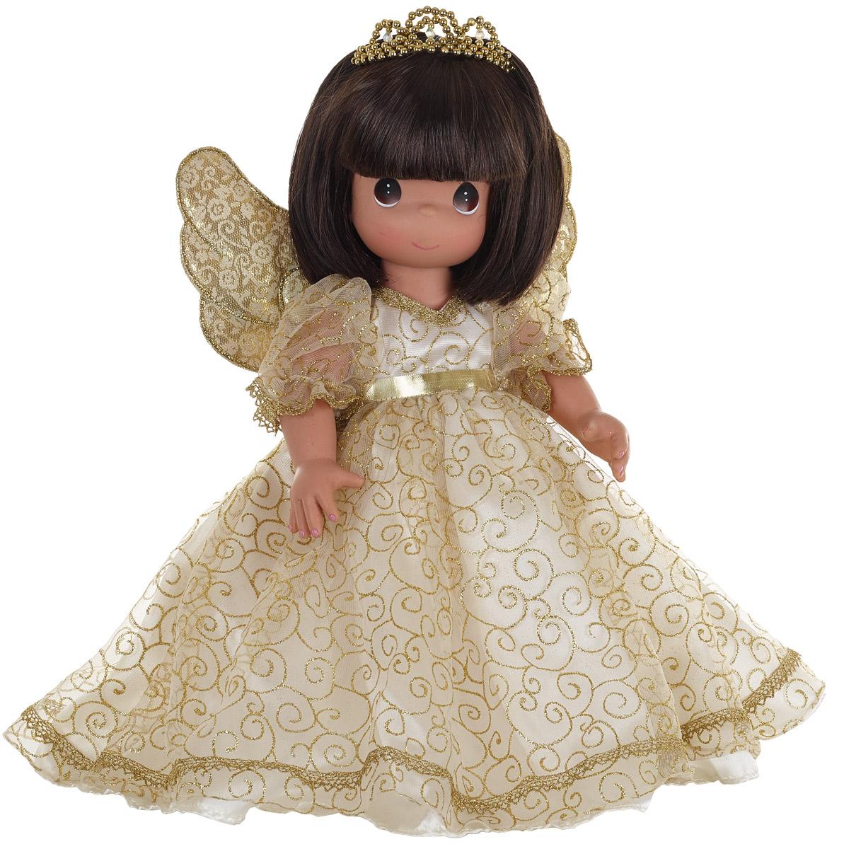 Precious Moments Кукла Ангельский шепот брюнетка куклы и одежда для кукол precious кукла балерина рыжая 30 см