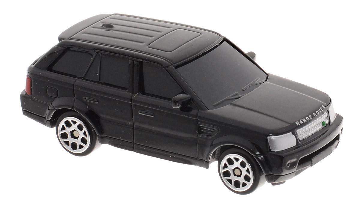 Uni-Fortune Toys Модель автомобиля Land Rover Range Rover Sport цвет черный