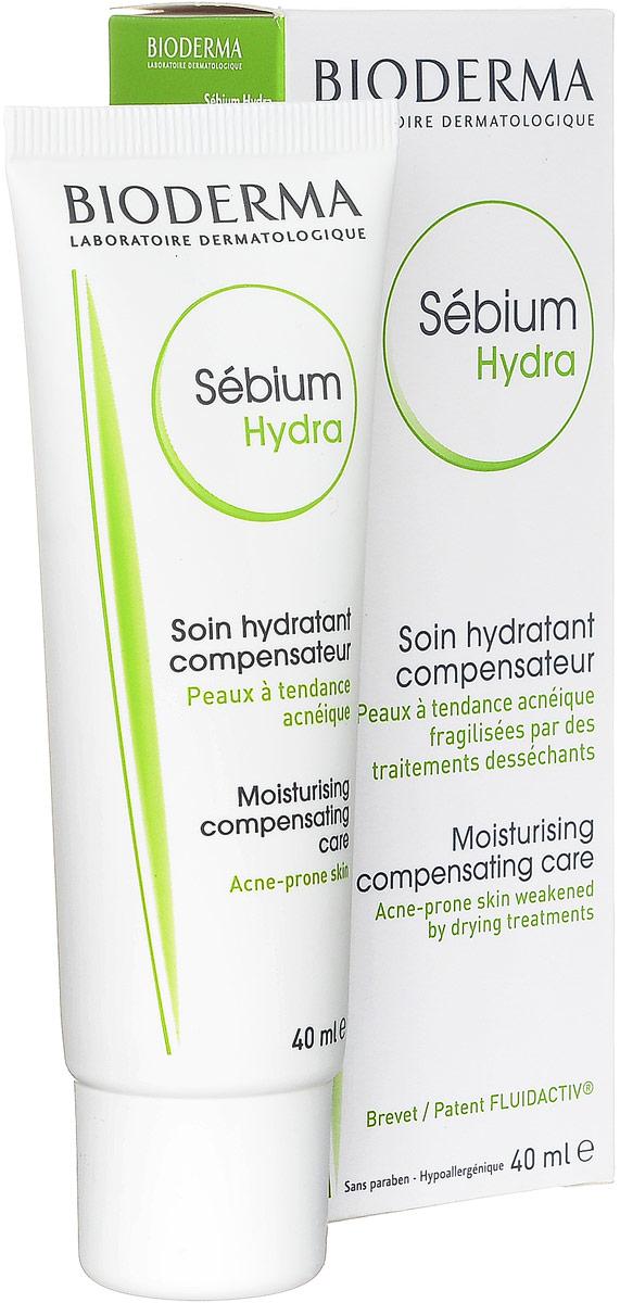 Bioderma Гидро-крем Sebium для проблемной кожи, 40 мл028612IКомпенсирующий, увлажняющий, смягчающий крем для жирной проблемной кожи подростков и взрослых увлажняет, защищает, смягчает кожу. Релипидирует, успокаивает и повышает переносимость.
