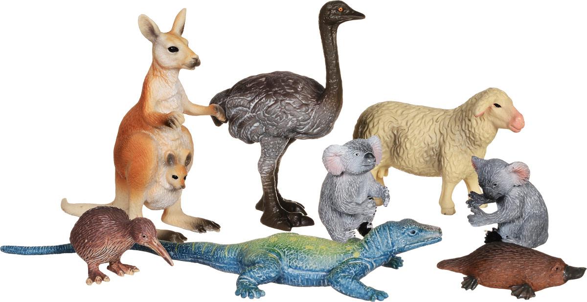 Wenno Набор фигурок Животные Австралии 8 шт как программировать на с автор дейтель скачать