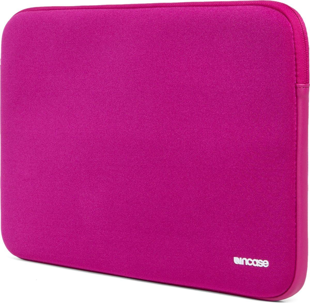 Incase Neoprene Classic Sleeve чехол для Apple MacBook 15, Pink SapphireCL60674Тонкий чехол Incase Neoprene Classic Sleeve для Apple MacBook 15 выполнен из неопрена в элегантном строгом дизайне. Чехол надежно защищает устройство от царапин, не пропускает влагу и оснащен мягкой подкладкой, а также удобной застежкой-молнией.