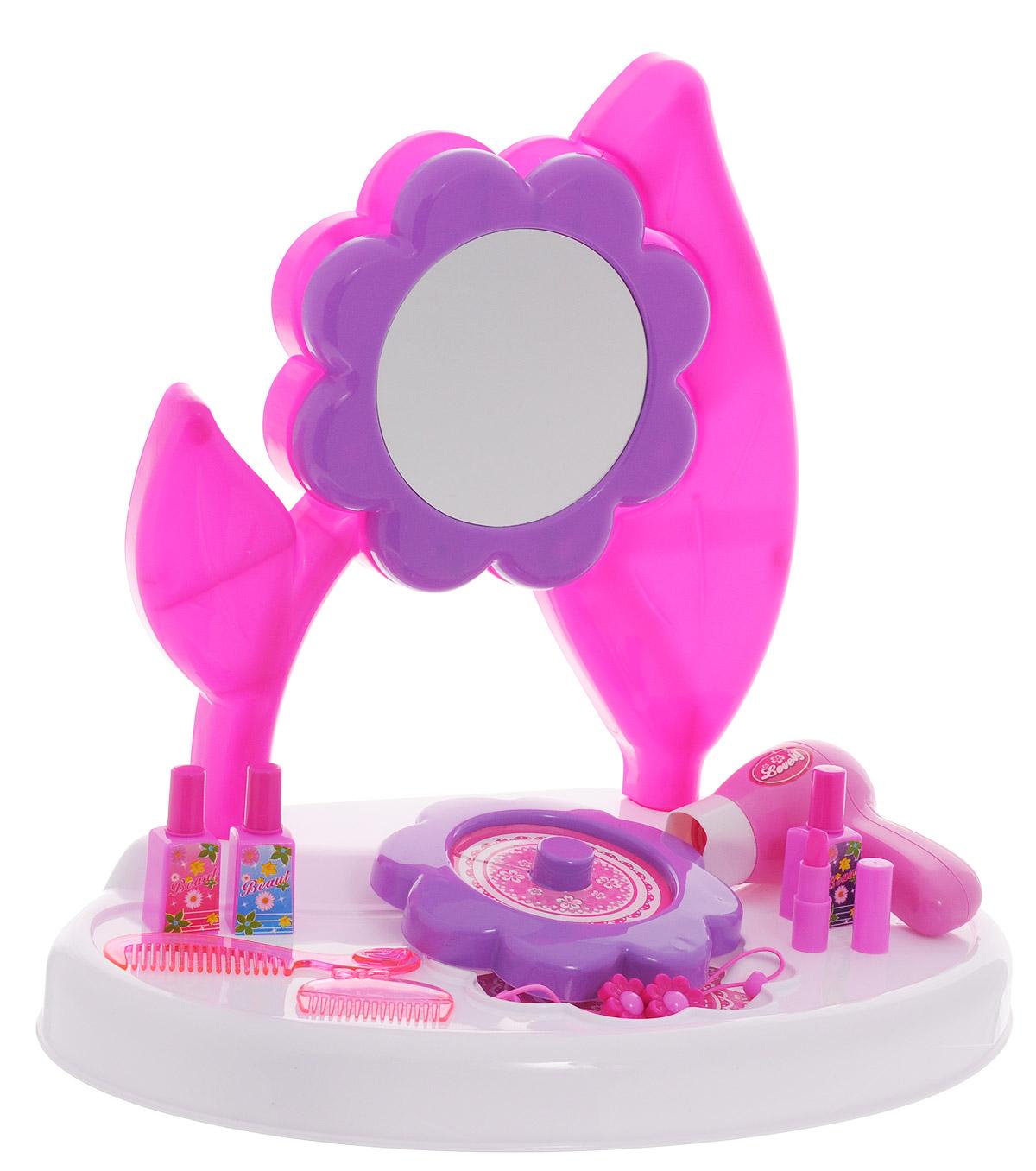 1TOY Туалетный столик Стилист Цветок малый 10 предметов туалетный столик рарити