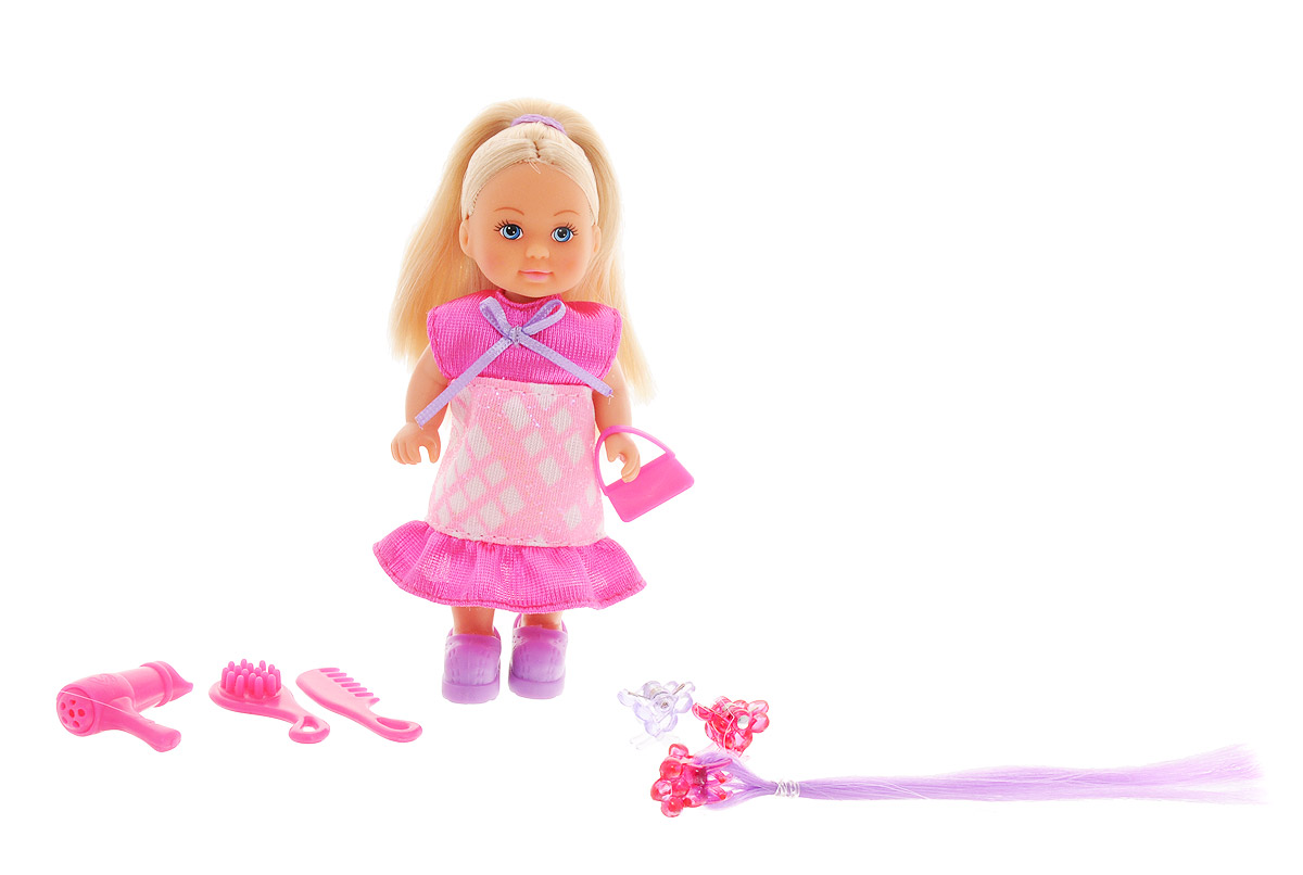 Simba Мини-кукла Еви Супер-волосы simba кукла evi