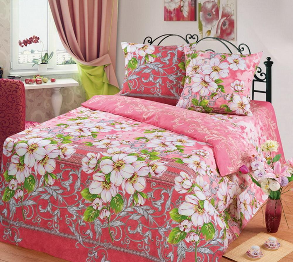 Комплект белья Cleo Яблоневый цвет, 1,5-спальный, наволочки 70x7015/335-BКоллекция постельного белья из бязи CLEO – это классика сна. Вся коллекция выполнена из 100% хлопка, т.е. во время сна будет комфортно в любое время года! Благодаря пигментному способу нанесение печати, даже после многократных стирок (деликатный режим), постельное белье сохраняет свой первоначальный вид.Постельное белье из бязи имеет ряд уникальных свойств: экологичность, гипоаллергенность, благодаря особому способу переплетения нитей в полотне, обеспечивается особая плотность ткани, что делает ее устойчивой к износу, сохраняется внешний вид на долгие годы, загрязнения прекрасно отстирываются любыми средствами, не садится, легко гладится, не накапливает статического электричества, благодаря составу из 100% хлопка, обладает исключительной терморегуляцией. Комплект состоит из пододеяльника, двух наволочек и простыни.