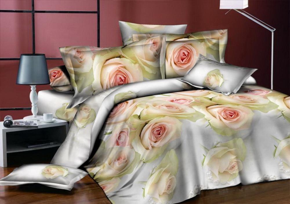 Комплект белья Cleo Чайные розы, 1,5-спальный, наволочки 70x7015/342-BКоллекция постельного белья из бязи CLEO – это классика сна. Вся коллекция выполнена из 100% хлопка, т.е. во время сна будет комфортно в любое время года! Благодаря пигментному способу нанесение печати, даже после многократных стирок (деликатный режим), постельное белье сохраняет свой первоначальный вид.Постельное белье из бязи имеет ряд уникальных свойств: экологичность, гипоаллергенность, благодаря особому способу переплетения нитей в полотне, обеспечивается особая плотность ткани, что делает ее устойчивой к износу, сохраняется внешний вид на долгие годы, загрязнения прекрасно отстирываются любыми средствами, не садится, легко гладится, не накапливает статического электричества, благодаря составу из 100% хлопка, обладает исключительной терморегуляцией. Комплект состоит из пододеяльника, двух наволочек и простыни.