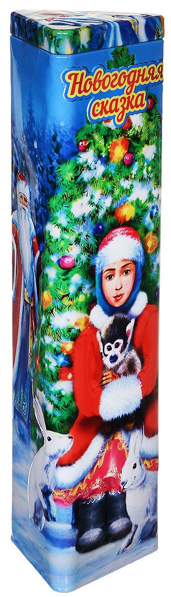 Дольче Вита Новогодняя Сказка черный ароматизированный листовой чай, 75 г дольче вита с рождеством христовым черный листовой чай 170 г
