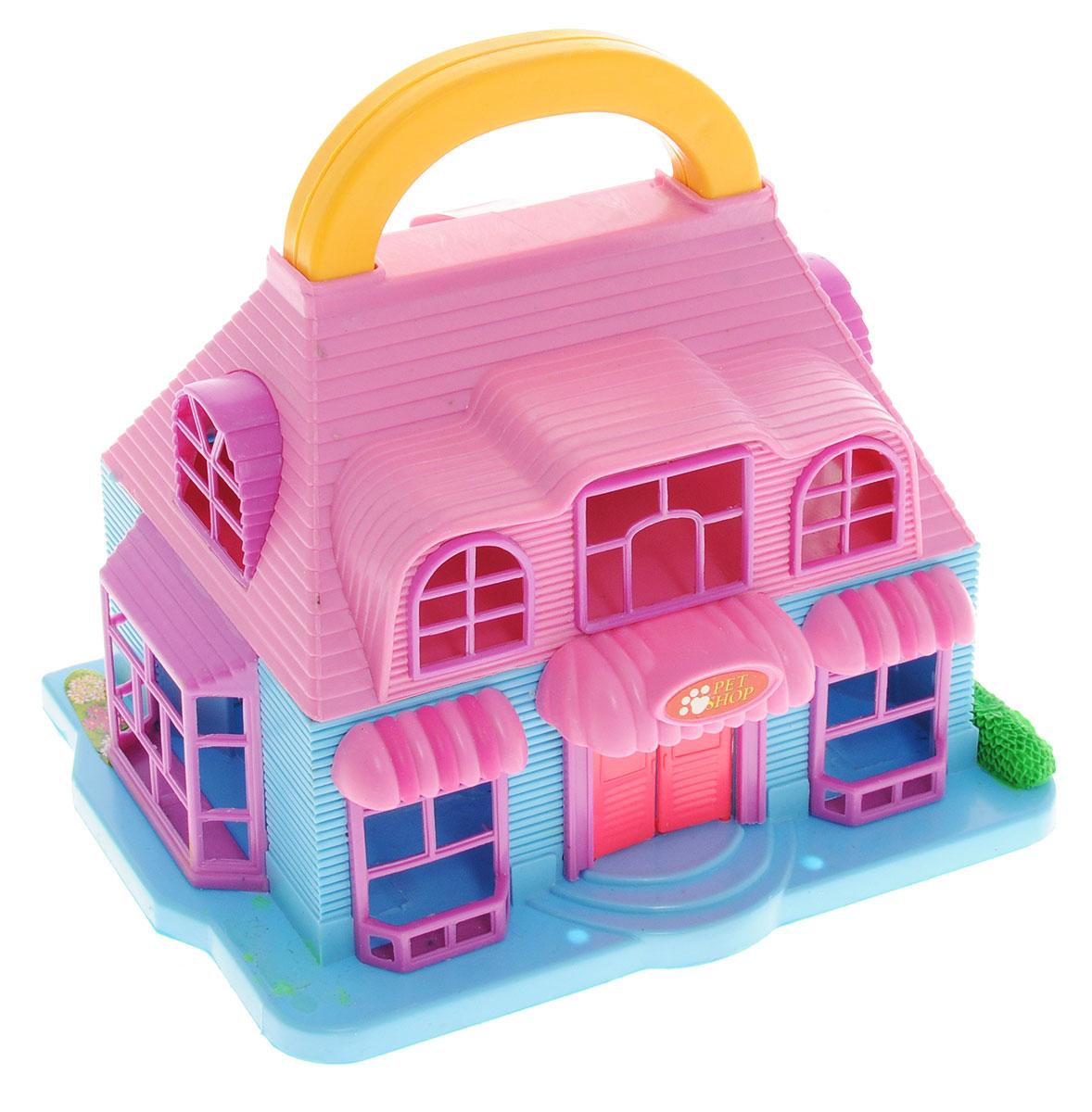 ABtoys Дом для кукол Pet Shop большой дом для кукол купить