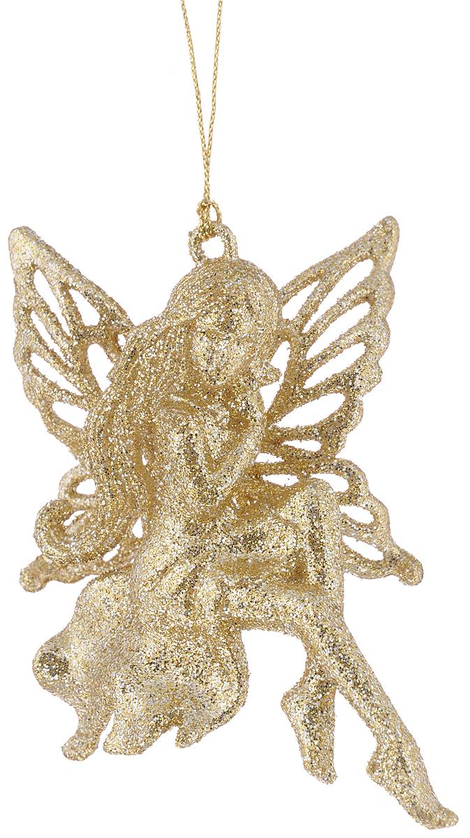 Украшение новогоднее подвесное Magic Time Сказочные феи, высота 11,4 см42380Новогоднее подвесное украшение Magic Time Сказочные феи выполнено из полистирола в форме феи и украшено блестками. С помощью петельки украшение можно повесить в любом понравившемся вам месте. Но, конечно, удачнее всего оно будет смотреться на праздничной елке.Елочная игрушка - символ Нового года. Она несет в себе волшебство и красоту праздника. Создайте в своем доме атмосферу веселья и радости, украшаяновогоднюю елку нарядными игрушками, которые будут из года в год накапливать теплоту воспоминаний.Материал: полистирол. Высота: 11,4 см