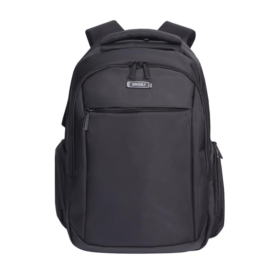 Рюкзак молодежный Grizzly, цвет: черный. 32 л. RU-700-4/3RU-700-4/3Рюкзак молодежный Grizzly.Рюкзак молодежный, два отделения, карман на молнии на передней стенке, объемные боковые карманы на молнии, внутренний карман на молнии, внутренний составной пенал-органайзер, внутренний укрепленный карман для ноутбука, анатомическая спинка, мягкая укрепленная ручка, нагрудная стяжка-фиксатор.Объем: 32 л.