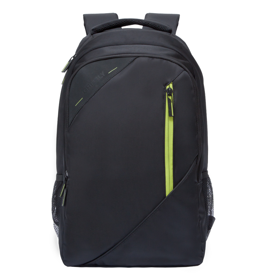 Рюкзак молодежный Grizzly, цвет: черный-салатовый. 32 л. RU-700-3/3RU-700-3/3Рюкзак молодежный Grizzly. Рюкзак молодежный, два отделения, карман на молнии на передней стенке, боковые карманы из сетки, внутренний карман на молнии, внутренний составной пенал-органайзер, внутренний укрепленный карман для ноутбука, жесткая анатомическая спинка, карман быстрого доступа на задней стенке, мягкая укрепленная ручка, нагрудная стяжка-фиксатор.Объем: 32 л.