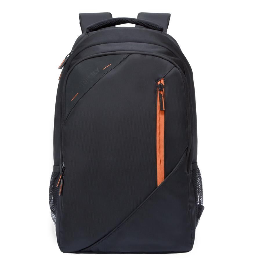 Рюкзак молодежный Grizzly, цвет: черный-оранжевый. 32 л. RU-700-3/1RU-700-3/1Рюкзак молодежный Grizzly.Рюкзак молодежный, два отделения, карман на молнии на передней стенке, боковые карманы из сетки, внутренний карман на молнии, внутренний составной пенал-органайзер, внутренний укрепленный карман для ноутбука, жесткая анатомическая спинка, карман быстрого доступа на задней стенке, мягкая укрепленная ручка, нагрудная стяжка-фиксатор.Объем: 32 л.