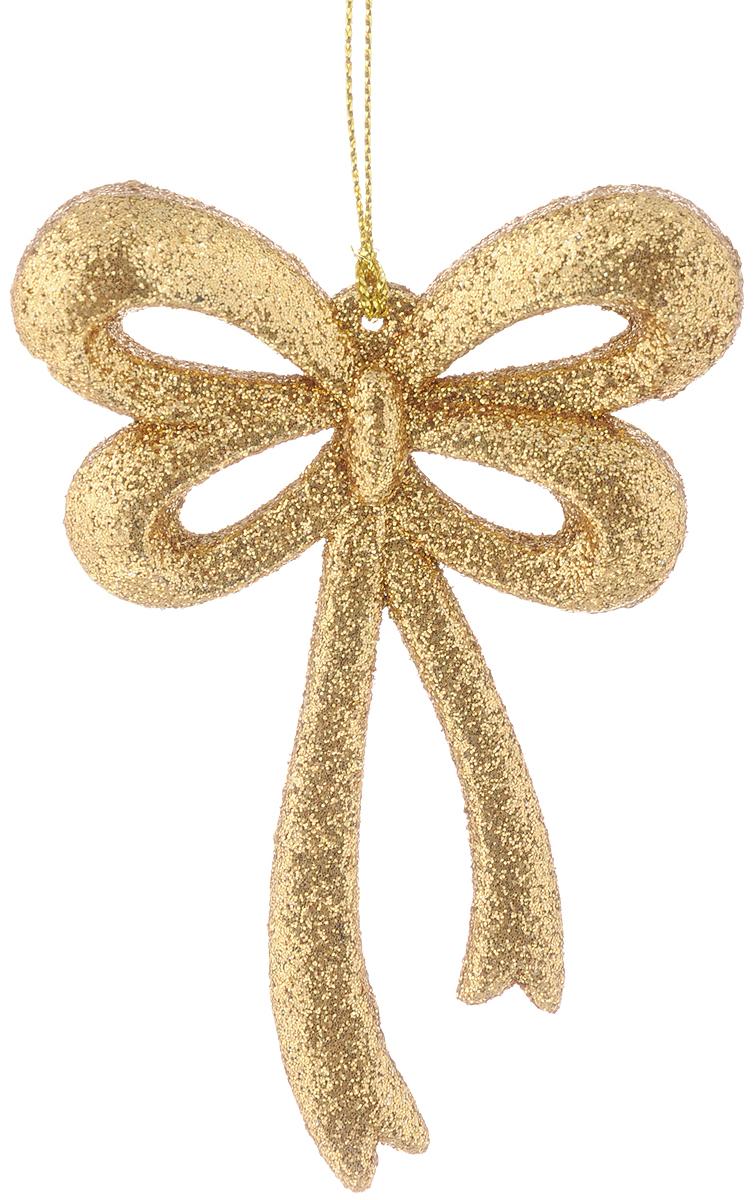 Украшение новогоднее подвесное Magic Time Бантик, 8 х 11 см38738/75111Новогоднее подвесное украшение Magic Time Бантик выполнено из полипропилена в виде бантика и украшено блестками. С помощью специальной петельки украшение можно повесить в любом понравившемся вам месте. Но, конечно, удачнее всего оно будет смотреться на праздничной елке.Елочная игрушка - символ Нового года. Она несет в себе волшебство и красоту праздника. Создайте в своем доме атмосферу веселья и радости, украшая новогоднюю елку нарядными игрушками, которые будут из года в год накапливать теплоту воспоминаний.
