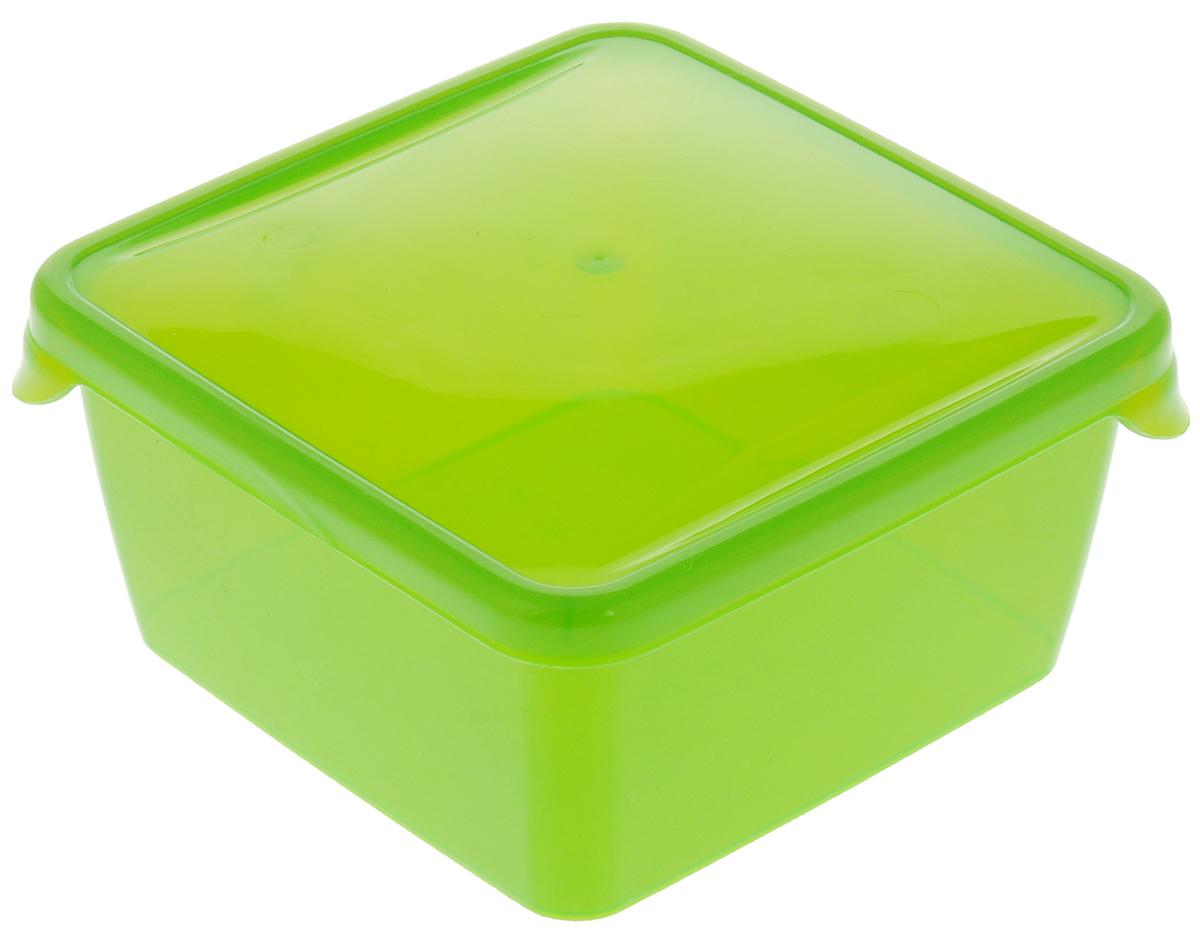 Контейнер P&C Браво, цвет: салатовый, 450 млПЦ1030_салатовыйКонтейнер P&C Браво выполнен из высококачественного пищевого прозрачного пластика и предназначен для хранения и транспортировки пищи.Крышка легко открывается и плотно закрывается с помощью легкого щелчка. Подходит для использования в микроволновой печи без крышки (до +70°С), для заморозки при минимальной температуре -30°С. Можно мыть в посудомоечной машине.