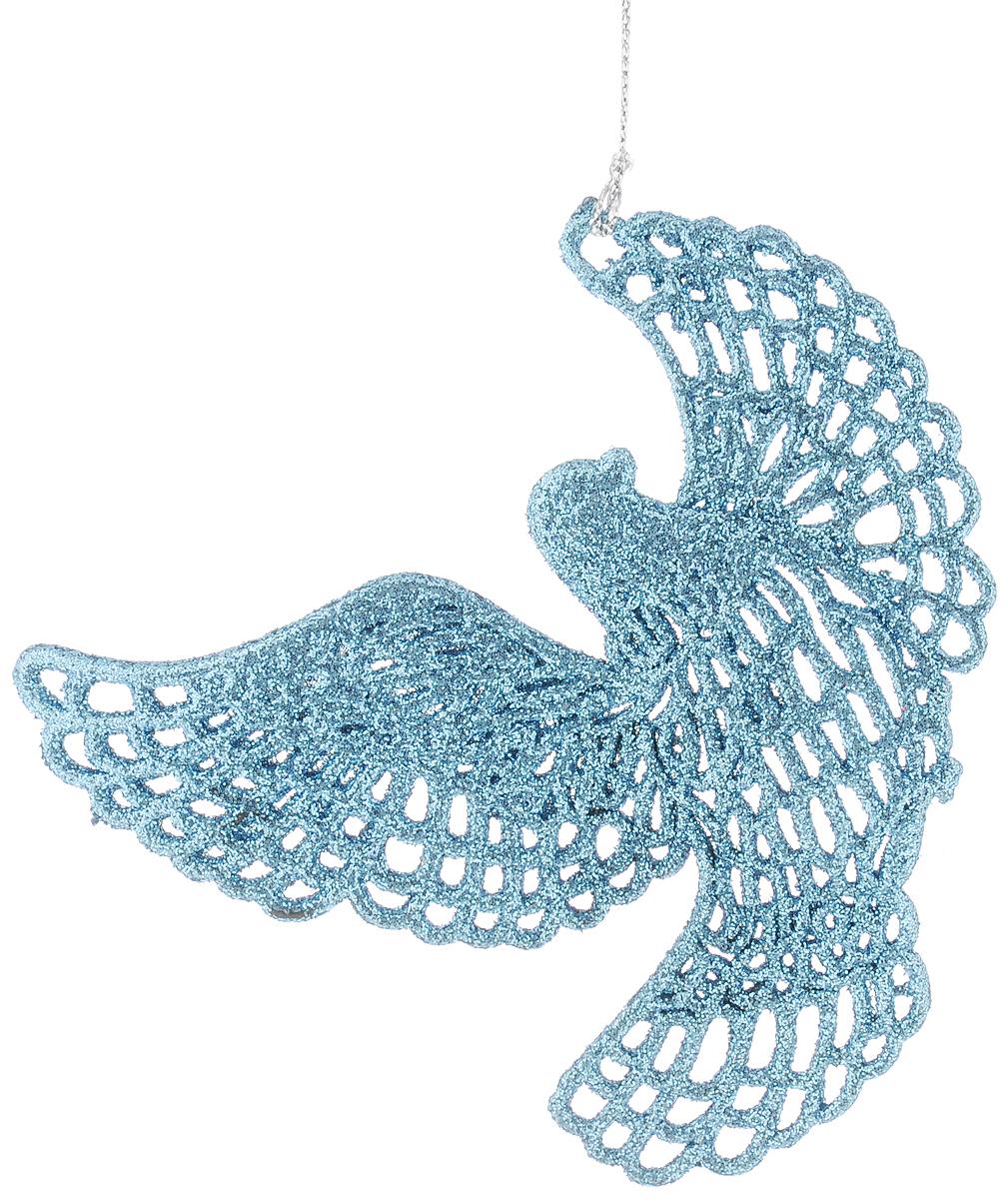 Украшение новогоднее подвесное Magic Time Небесная голубка 11,5 х 11,5 см42098Новогоднее подвесное украшение Magic Time Небесная голубка выполнено из полипропилена в виде голубки и украшено блестками. С помощью специальной петельки украшение можно повесить в любом понравившемся вам месте. Но, конечно, удачнее всего оно будет смотреться на праздничной елке.Елочная игрушка - символ Нового года. Она несет в себе волшебство и красоту праздника. Создайте в своем доме атмосферу веселья и радости, украшая новогоднюю елку нарядными игрушками, которые будут из года в год накапливать теплоту воспоминаний.