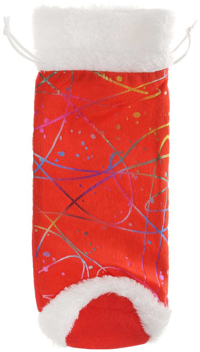 Мешок для подарков Феникс-презент Золотой узор, 30 x 12 см42538Мешочек Феникс-Презент Золотой узор, предназначен для подарков. Такой мешок особенно актуален в приближающиеся новогодние праздники.Откройте для себя удивительный мир сказок и грез. Почувствуйте волшебные минуты ожидания праздника, создайте новогоднее настроение вашим дорогим и близким. Размер: 30 х 12 см. Материал: полиэстер.