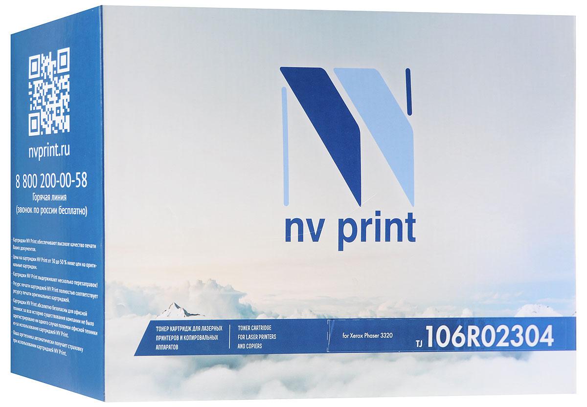 NV Print 106R02304, Black тонер-картридж для Xerox Phaser 3320NV-106R02304Совместимый лазерный картридж NV Print 106R02304 для печатающих устройств Xerox - это альтернатива приобретению оригинальных расходных материалов. При этом качество печати остается высоким. Картридж обеспечивает повышенную чёткость чёрного текста и плавность переходов оттенков серого цвета и полутонов, позволяет отображать мельчайшие детали изображения.Лазерные принтеры, копировальные аппараты и МФУ являются более выгодными в печати, чем струйные устройства, так как лазерных картриджей хватает на значительно большее количество отпечатков, чем обычных. Для печати в данном случае используются не чернила, а тонер.