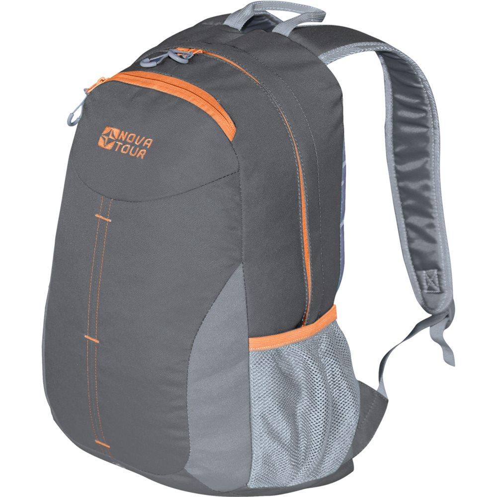 Рюкзак городской Nova Tour Симпл, цвет: серый, светло-серый, 20 л рюкзак туристический nova tour квест 60 л цвет серый