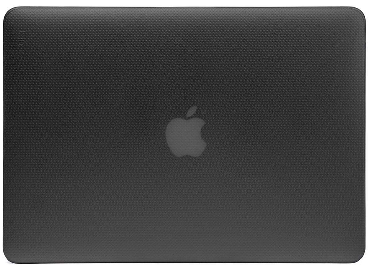 Incase Hardshell Case Dots чехол для Apple MacBook Air 11, Black FrostCL60603Защитите свой MacBook и украсьте его в своём стиле с помощью лёгкого облегающего футляра Hardshell Case Dots от Incase. Он обеспечивает полную защиту, не закрывая доступ к разъёмам, индикаторам и кнопкам. Этот прочный футляр для MacBook выполнен в элегантном стиле. Благодаря литой конструкции и прорезиненным ножкам ноутбук хорошо зафиксирован на месте и не нагревается. Имеет вентиляционные отверстия для отвода тепловыделения.