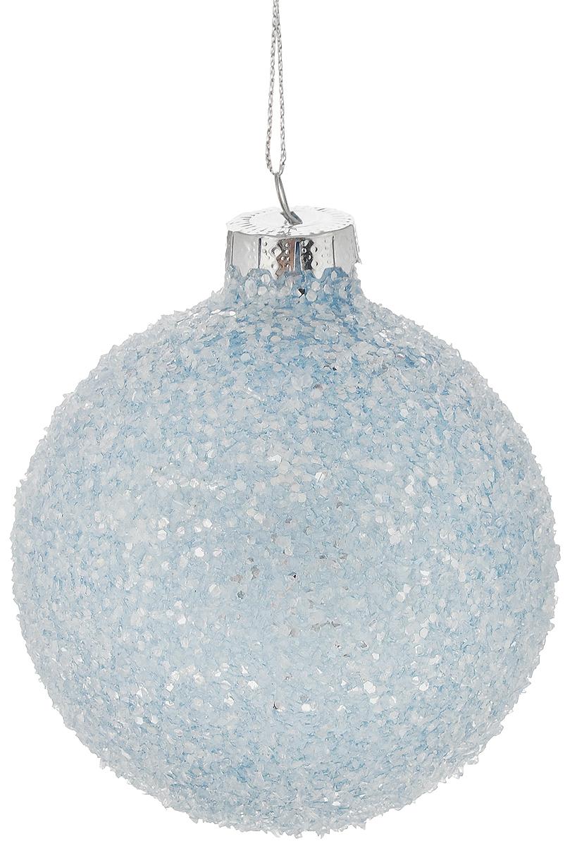 Украшение новогоднее подвесное Magic Time Чудесный иней, диаметр 8 см42351Новогоднее украшение Magic Time Чудесный иней отлично подойдет для декорации вашего дома и новогодней ели. Изделие выполнено из стекла в виде шара и украшено блестками. Елочная игрушка - символ Нового года. Она несет в себе волшебство и красоту праздника. Создайте в своем доме атмосферу веселья и радости, украшая всей семьей новогоднюю елку нарядными игрушками, которые будут из года в год накапливать теплоту воспоминаний.