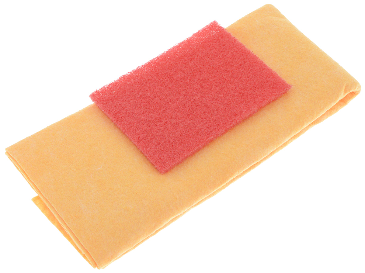 Набор салфеток для очистки стекол Runway, цвет: красный, оранжевый, 2 штRW647Набор салфеток Runway предназначен для сухой и влажной очистки стекол автомобиля от дорожных загрязнений, удаления остатков насекомых и следов жизнедеятельности птиц. Салфетки подходят для многоразового применения. Абразивная салфетка предназначена для снятия следов насекомых со стекол, фар и пластиковых деталей кузова автомобиля. Абразивную салфетку можно использовать и для удаления сильных загрязнений. Вискозная салфетка подойдет для сухой и влажной чистки и мойки стекол.Размер абразивной салфетки: 9 х 12 см.Размер вискозной салфетки: 50 х 60 см.