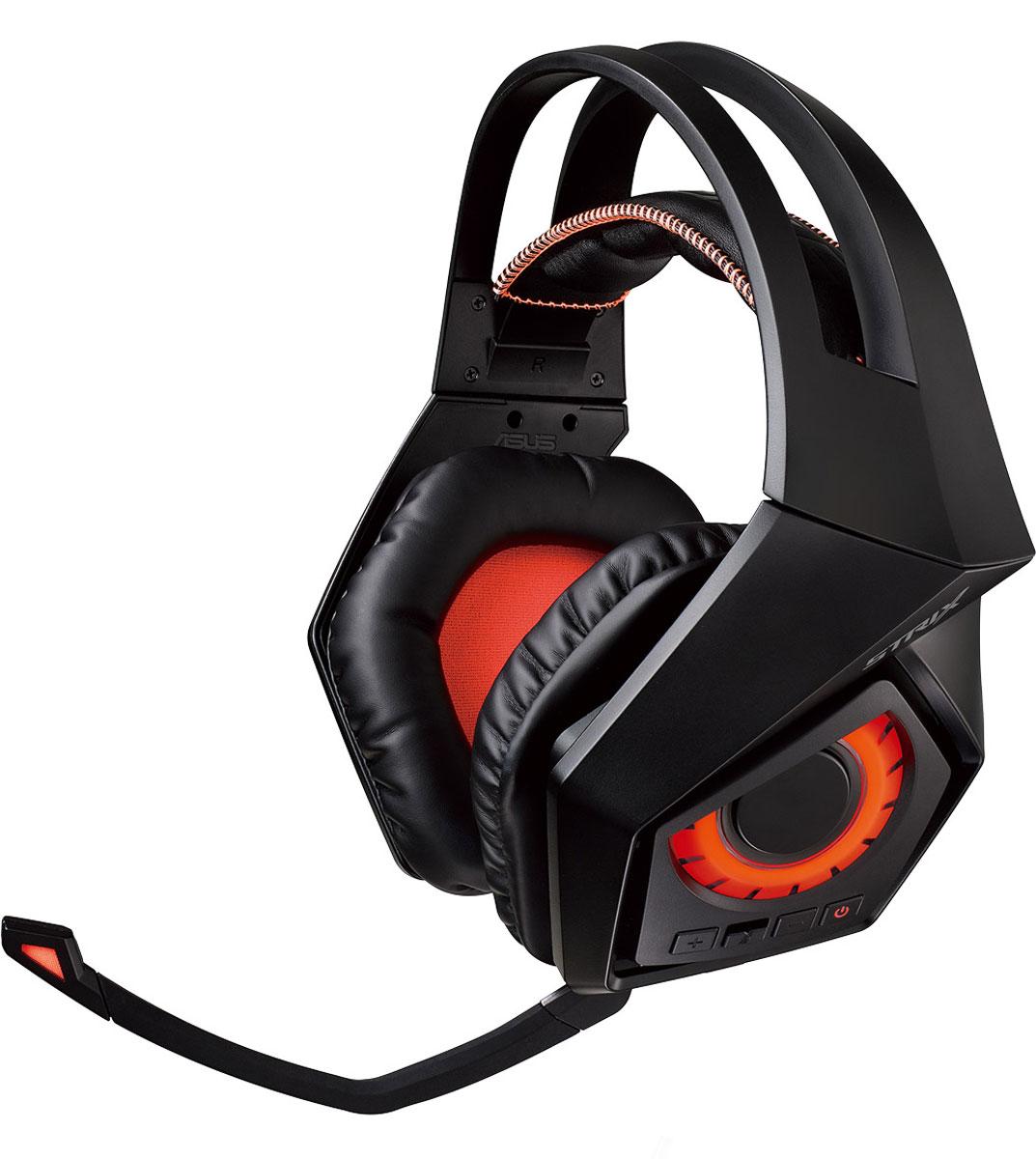 ASUS ROG Strix Wireless, Black игровая гарнитура