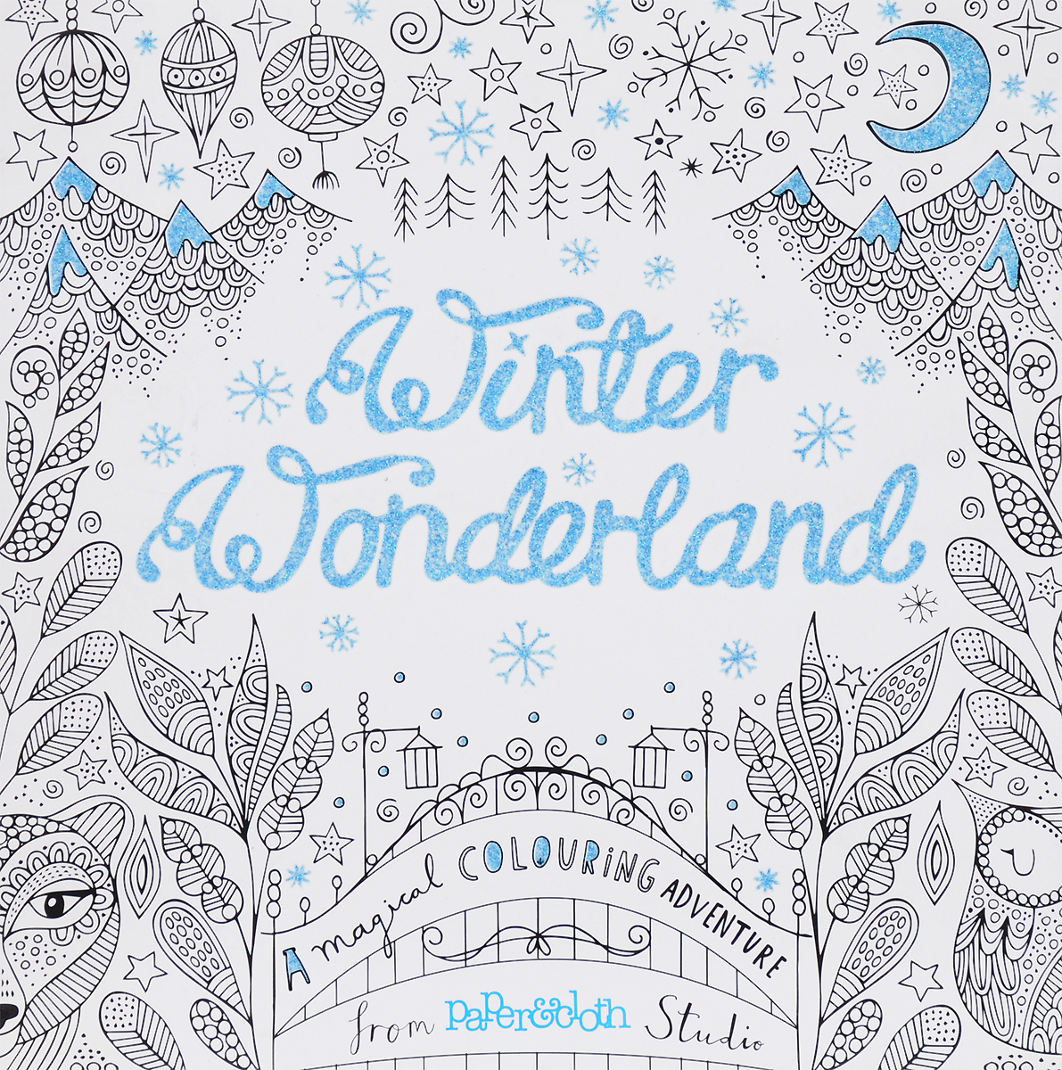 Winter Wonderland: A Magical Colouring Adventure texet tm d226 dual sim red black