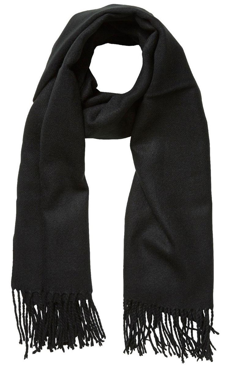 Палантин женский Vero Moda, цвет: темно-синий. 10137899. Размер универсальный пальто vero moda цвет темно оливковый