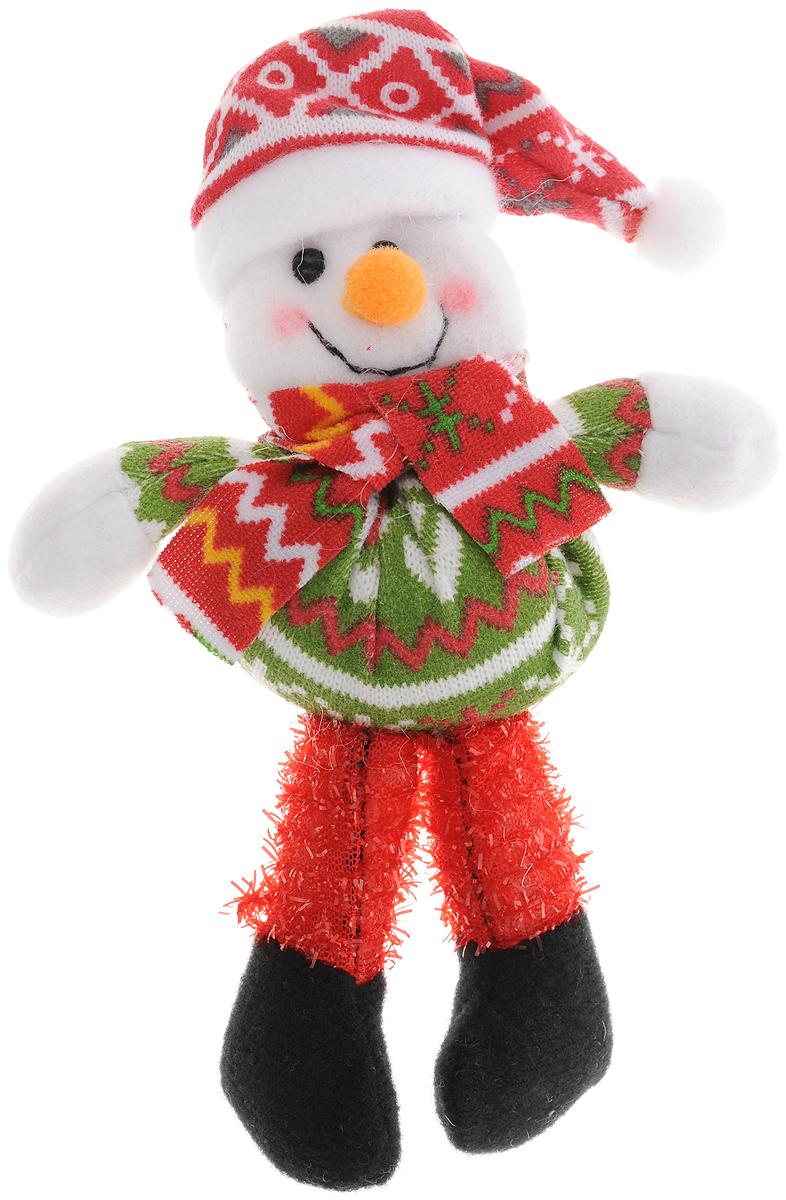 Украшение новогоднее Феникс-Презент Снеговик, высота 17 см феникс презент