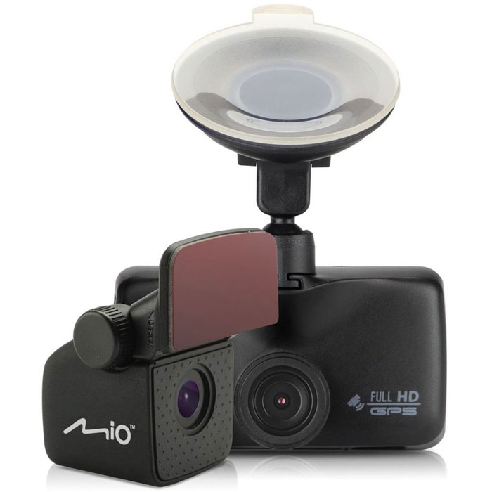 Mio MiVue 698, Black видеорегистратор5415N4890025Две камеры Mio MiVue 698 - это оптимальный контроль на дороге во всех направлениях.Устройство оснащено двумя слотами под карты памяти, что позволит вам в случае необходимости скопировать файлы на дополнительную картуШирокий угол обзора 140° позволяет получить полную картину всегда и везде.Ручная установка экспозиции видеорегистратора позволяет в сложных условиях освещённости, таких как снегопад или яркие солнечные лучи, регулировать яркость видео.Чтобы не отвлекать вас во время вождения, на дисплее будет указана текущая скорость движения и точное время. При приближении к камерам контроля скорости, на экране появится предупреждение об ограничении.Передовая оптическая система состоит из 5 высококачественных стеклянных линз и инфракрасного фильтра. Они пропускают больше света и создают более яркую и чёткую картинку.Оповещение о камерах SmartAlertsЗапатентованное умное оповещение о камерах контроля скорости заранее предупреждает водителя. Дистанция до камеры выбирается автоматически в зависимости от вашей скорости.Контроль за соблюдением скорости позволяет настроить лимит допустимой скорости, при превышении которой, вы услышите звуковой сигнал.Теперь фотографии можно делать в процессе режима видеосъёмки, всего лишь нажав на кнопку фотоаппарата на экране видеорегистратора.Благодаря встроенному аккумулятору и технологии определения движения, видеорегистратор автоматически начинает запись, когда что-то происходит в кадре. Даже если никого не будет в машине, там останется надежный свидетель.При срабатывании датчика удара, видеорегистратор мгновенно начинает запись нестираемого видео для последующего анализа события и помещает его в нестираемый буфер памяти.Апертура: F2.0Размер матрицы: 1/2.7