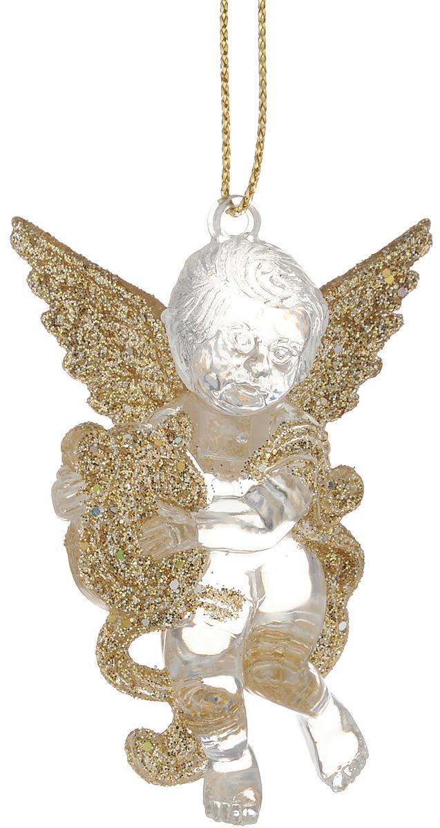 Украшение новогоднее подвесное Magic Time Ангелочек, 7 х 4,5 см38591Новогоднее украшение Magic Time Ангелочек отлично подойдет для декорации вашего дома и новогодней ели. Изделие выполнено из полистирола и оснащено специальной петелькой для подвешивания.Елочная игрушка - символ Нового года. Она несет в себе волшебство и красоту праздника. Создайте в своем доме атмосферу веселья и радости, украшая всей семьей новогоднюю елку нарядными игрушками, которые будут из года в год накапливать теплоту воспоминаний.Размер фигурки: 7 х 4,5 см.