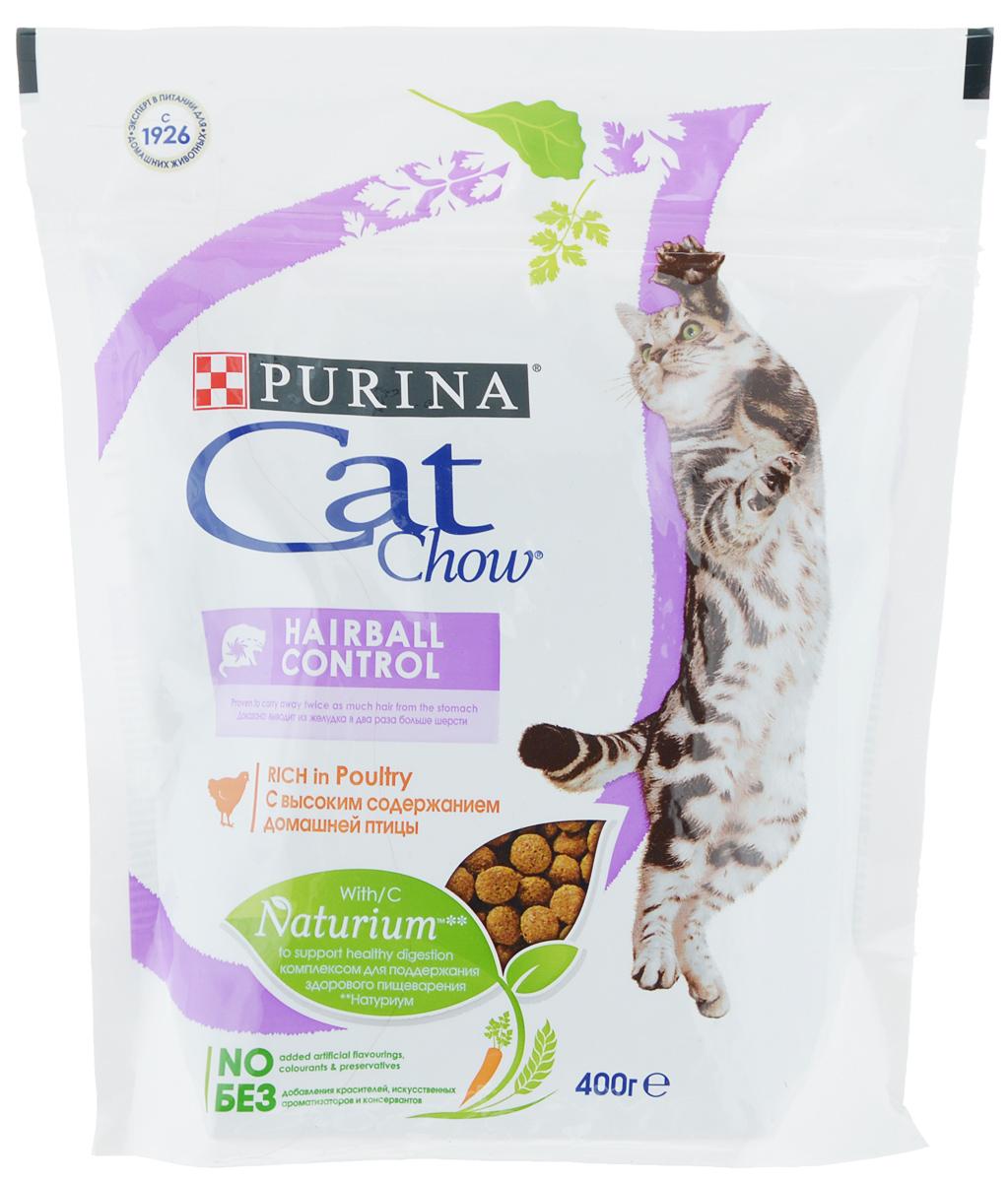 Корм сухой Cat Chow, контроль образования комков шерсти, с домашней птицей, 400 г12267402Сухой корм Cat Chow - это особое сочетание волокон природного происхождения. Он включает источник натурального пребиотика, который улучшает баланс микрофлоры кишечника и поддерживает здоровье пищеварительной системы кошки. Это позволяет ей питаться с большей пользой. В состав корма входит витамин E для поддержания естественной защиты организма кошки и витаминами группы B, чтобы помочь вашей кошке оптимально использовать энергию. В состав специально включены источники клетчатки, которые выводят из желудка в два раза больше волосков шерсти. В особенности подходит для кошек, живущих дома.Без добавления искусственных консервантов.Без добавления красителей.Без добавления искусственных ароматизаторов.Товар сертифицирован.